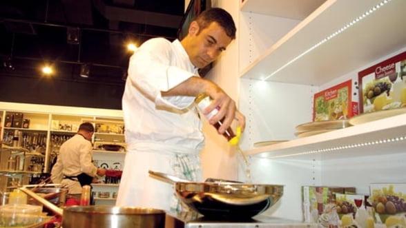 """De la micul bistrou boem la """"grande cuisine"""", cu George Butunoiu"""