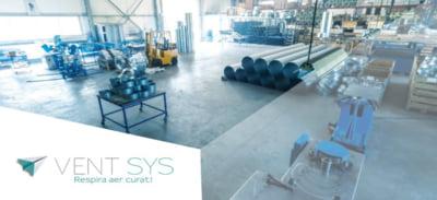 De la tubulatura de ventilatie la ventilatoare industriale: cum a ajuns Ventsys la afaceri de 6,5 milioane RON / an