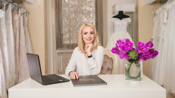 De la zero la afaceri de 500.000 de euro cu rochii de mireasa haute couture