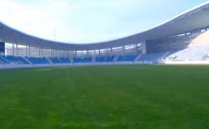 De necrezut: Stadionul de 22 de milioane de euro din Targu Jiu nu poate fi folosit