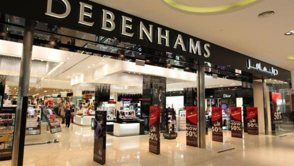 Debenhams revine in Romania si recruteaza manageri pentru magazine in Bucuresti