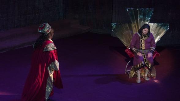 """Debut la pupitrul dirijoral in """"Nabucco"""" pentru Tiberiu Soare pe scena Operei Nationale Bucuresti"""