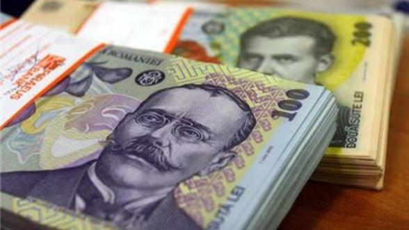 Deficitul contului curent a scazut cu 44% in primele trei luni