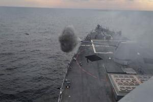 Demonstratia americana de forta din Marea Neagra este o replica la miscarile Rusiei