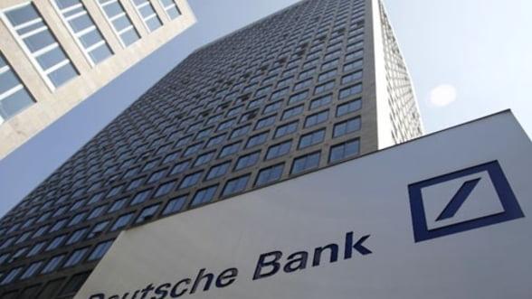 Deutsche Bank a redevenit cea mai mare banca europeana