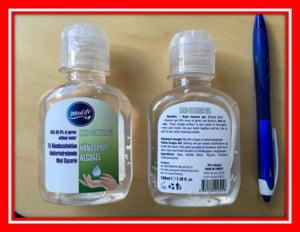 Dezinfectant de maini toxic, in magazine, semnalat de Protectia Consumatorilor