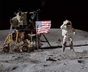 Dezvaluiri despre astronautii de pe Luna, dupa 40 de ani: Creierul le-a fost perturbat