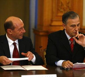 Diferenta dintre Traian Basescu si Mircea Geoana