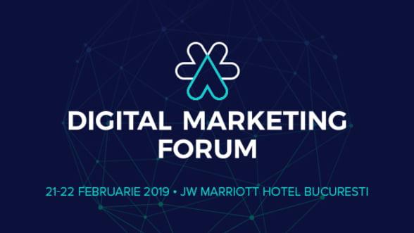 Digital Marketing Forum 2019 aduce 3 traininguri inedite sustinute de specialisti internationali