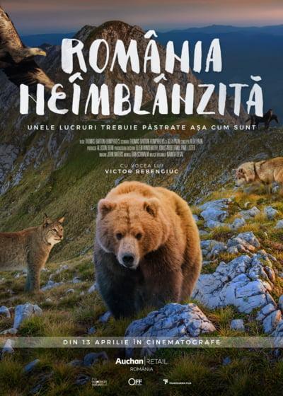 """Din acest weekend, in cinema: """"Romania neimblanzita"""", primul film documentar despre natura Romaniei"""