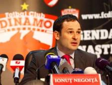Dinamo are datorii de 9,6 milioane de euro catre Negoita si firmele sale