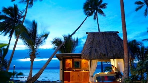 Distreaza-te in stil Cousteau intr-o statiune de lux din Fiji