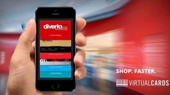Diverta este noul partener al aplicatiei VirtualCards