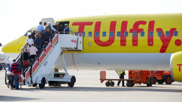 Divizia aeriana a grupului TUI ar putea muta o parte dintre posturile de mentenanta in Romania