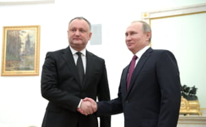 Dodon s-a razgandit, dupa intalnirea cu Putin: Vrea sa anuleze Acordul Moldova - UE