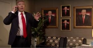 Donald Trump, parodiat la emisiunea la care a fost invitat (Video)