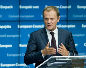 Donald Tusk, sfat amical pentru Grecia, cu referire la Putin: Cautati ajutor printre prieteni, nu printre dusmani