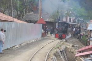 Dosar penal deschis dupa ce locomotiva Mocanitei din Maramures a deraiat