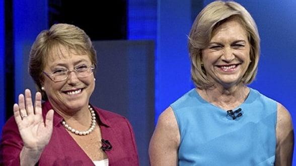 Doua femei concureaza pentru sefia statului in Chile