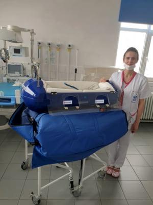 Doua spitale care au preluat cazurile pediatrice confirmate cu SARS-CoV2 primesc echipamente de protectie si aparatura medicala vitala