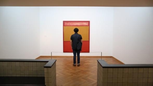 Doua tablouri de Mark Rothko, vandute cu peste 76 de milioane de dolari, la New York Foto