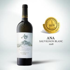 Doua vinuri romanesti au fost distinse cu Medalia de aur la Bruxelles