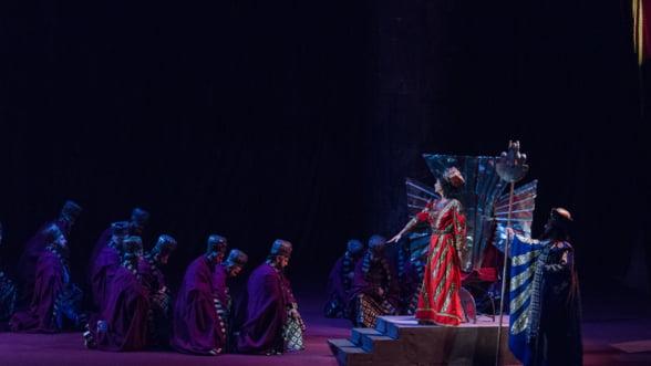 Dragana Radakovic, Dragoljub Bajic, invitati speciali in spectacolul Nabucco de pe scena Operei Nationale Bucuresti
