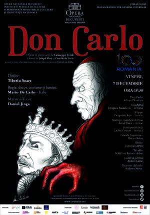 "Dragana Radakovic si Dragoljub Bajic, invitati in spectacolul ""Don Carlo"" de pe scena Operei Nationale Bucuresti"