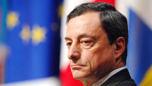 Draghi: Achizitiile BCE de obligatiuni suverane nu vor avea loc prin tiparire de bani