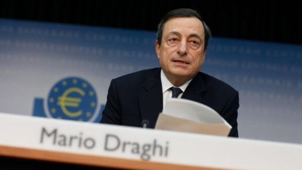 Draghi: Economia euro creste in 2012, in ciuda riscurilor