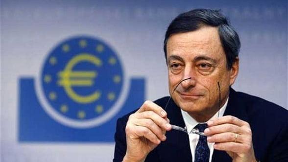 Draghi: Perioada cea mai dificila pentru zona euro pare sa se fi incheiat