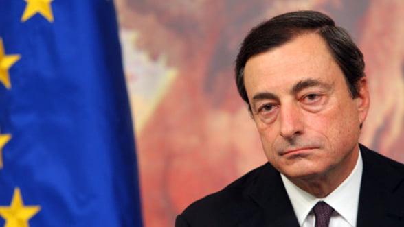 Draghi: Zona euro a facut progrese spectaculoase spre iesirea din criza