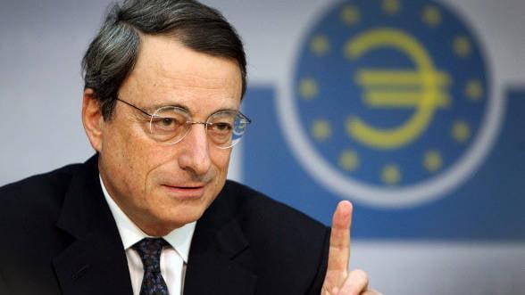Draghi: Zona euro se redreseaza foarte lent