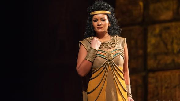 "Dragoljub Bajic, pe scena Operei Nationale Bucuresti in ""Aida"" lui Verdi"