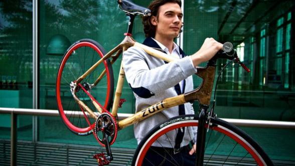 Drumul spre birou fara masina: Incearca bicicleta din bambus!
