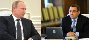 Dupa ce a fost la meci cu Putin, Ponta da asigurari despre orientarea occidentala a Romaniei