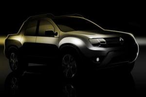 Duster Pickup este realitate: Prima imagine oficiala publicata de Renault