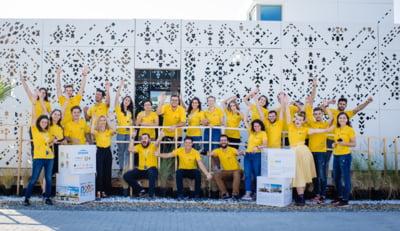 Echipa Romaniei concureaza pentru Premiul Publicului la olimpiada caselor solare
