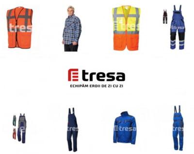 Echipamente complete de protectie din oferta magazinului Tresa