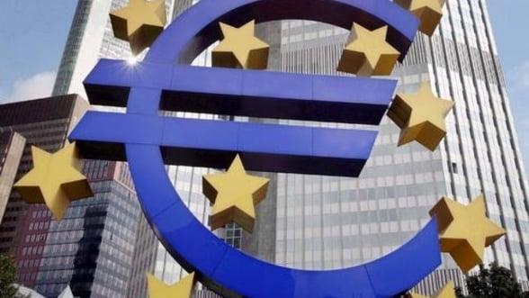 Economia zonei euro a stagnat in primul trimestru, evitand la limita recesiunea