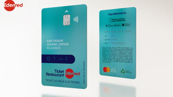 Edenred România lansează, în premieră, cardurile de beneficii eco-friendly și versiunile lor virtuale