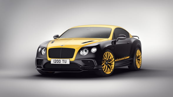 Editie limitata Bentley Continental: Sport de lux