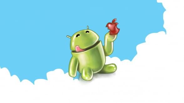 Efectul Android: iPhone pierde cota de piata, in ciuda vanzarilor bune