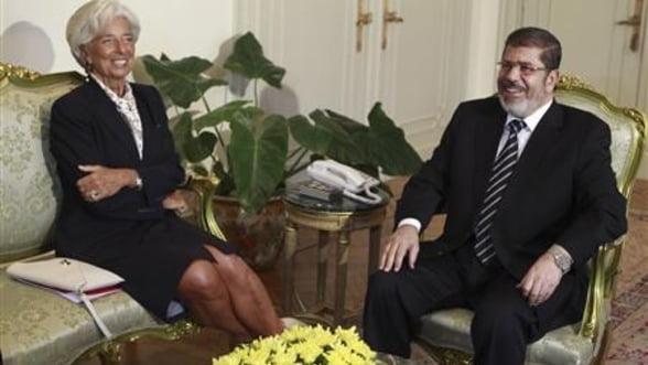 Egiptul vrea 4,8 miliarde de dolari de la FMI