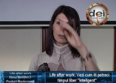 Elena Marineci, product mastermind Life after Work