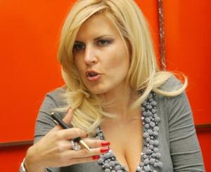 Elena Udrea a inaugurat parcul de distractii de la Busteni
