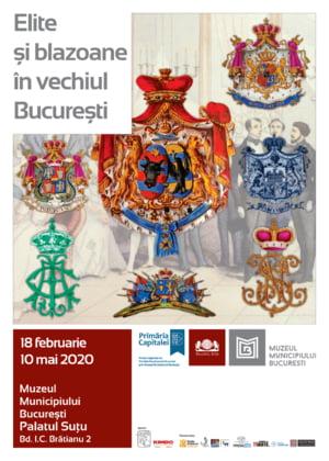 Elite si blazoane din vechiul Bucuresti, prezentate la Palatul Sutu