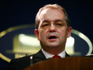 Emil Boc: Sunt extrem de constient sa solicit Parlamentului un vot de incredere