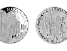 Emisiune numismatica la 135 de ani de BNR