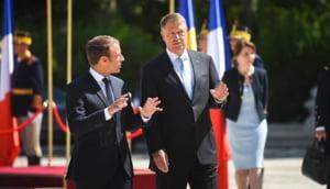 Emmanuel Macron il lauda pe Klaus Iohannis: E un presedinte care nu isi lasa tara din maini